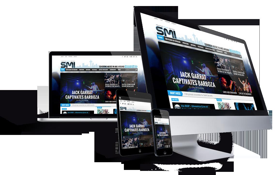 Seattle-Music-Insider-website-development