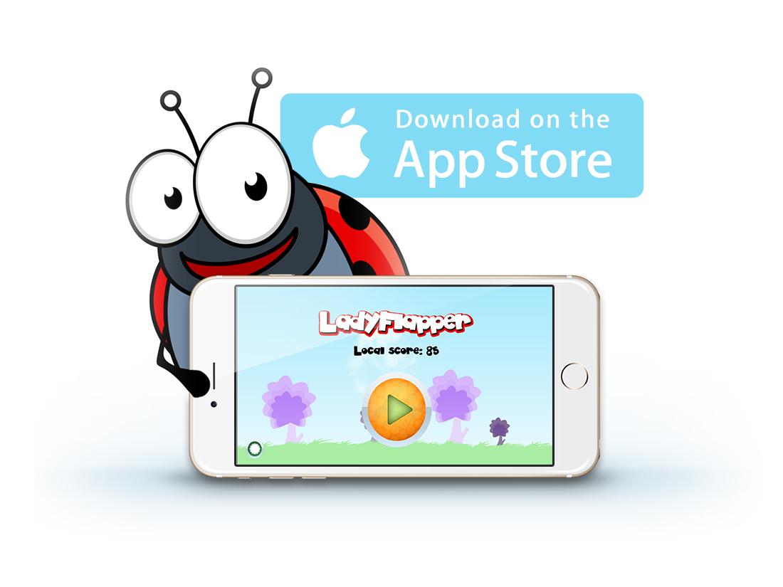 Ladybug-ladyflapper-download-iphone-mobile-app
